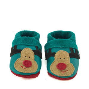 Rudolph CORFOOT soft sole leather slippers baby shoes
