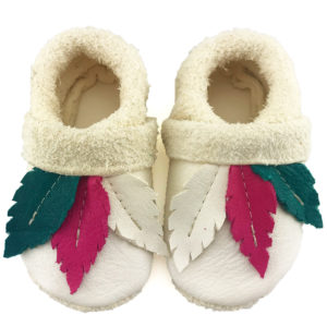 Pocahontas Corfoot Handmade Baby shoes