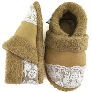 Ariadni Corfoot leather baby slippers baby soft sole shoes