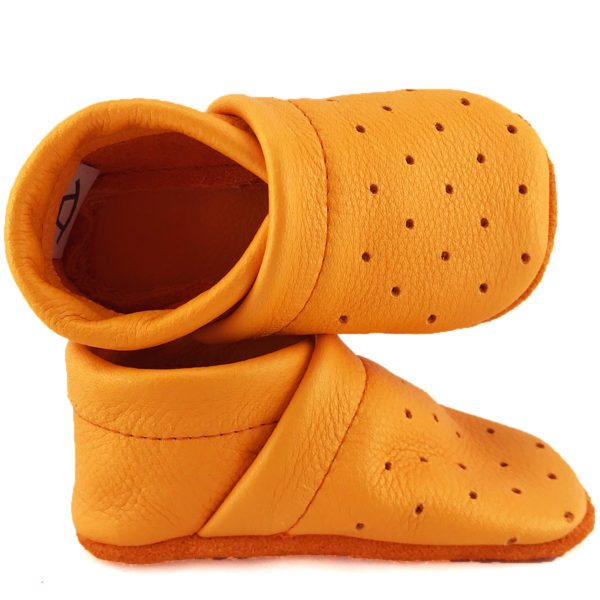 Mango Corfoot Handmade leather baby summer shoes