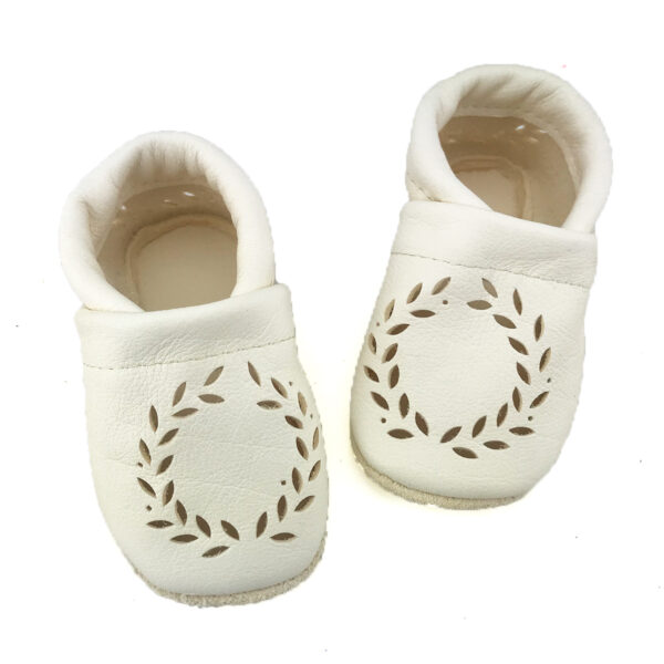 Olivia Corfoot Handmade first leather baby shoes